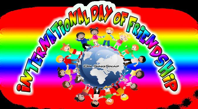 International Day Of Friendship Challenge!   SingSnap Karaoke